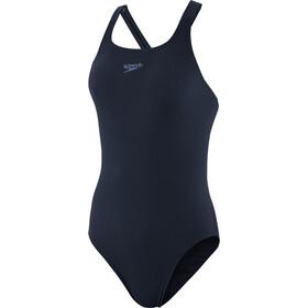speedo Essentials Endurance+ Medalist Costume Donna, blu